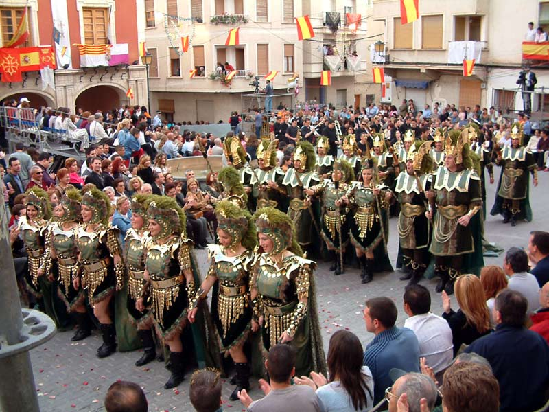 Abanilla Moors and Christians festival