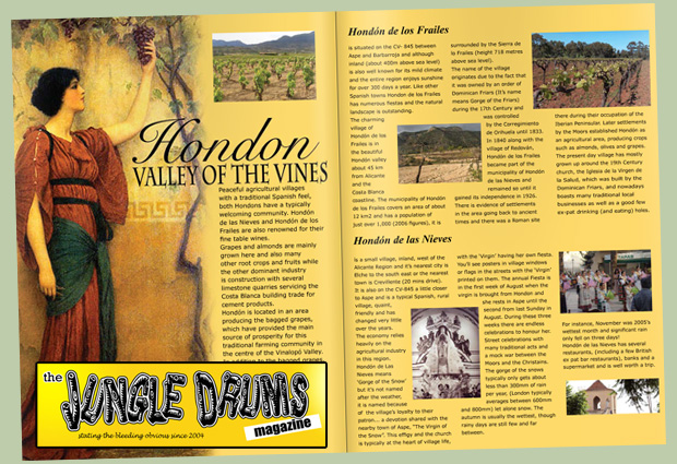 The Jungle Drums Magazine