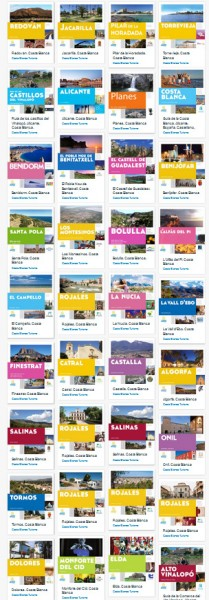 Costa Blanca Tourist Guides