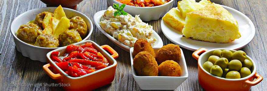 Various Spanish Tapas