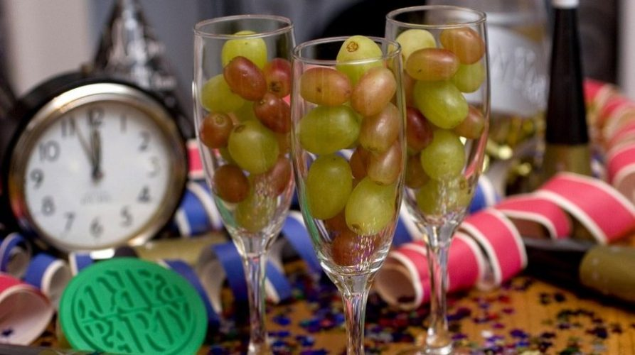 12 Grapes for New Year
